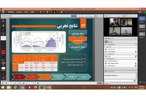 اولین جلسه دفاع دکترای آنلاین در واحد دزفول برگزار شد
