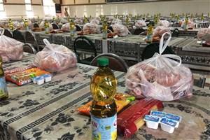 توزیع ۲۰۰ بسته غذایی توسط دانشجویان آذربایجان شرقی