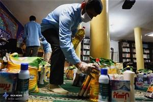 تهیه 110 بسته اقلام کمک معیشتی برای مناطق محروم اطراف تهران