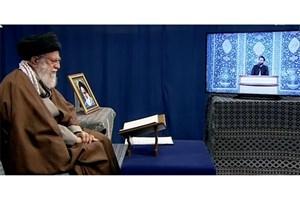 تشویق ویژه قاری نوجوان توسط رهبر معظم انقلاب/ گرامیداشت یاد مرحوم موسوی قهار