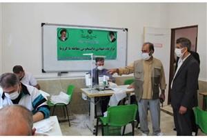 تولید روزانه بیش از ۵ هزار ماسک بهداشتی در قرارگاه جهادی واحد کرج