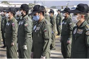 تشییع پیکرشهدای خلبان هوا ناجا /علت سقوط هواپیما در حال بررسی است