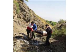 نجات 2 گروه کوهنورد مفقود شده در ارتفاعات شهرستان باغملک