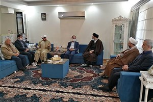 دیدار مسئولان دانشگاه آزاد گیلان با خانواده معظم شهید غلامحسین خردمند