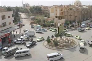 پرواز گسترده بالگردها و جنگندههای آمریکایی بر فراز شهر الحسکه سوریه