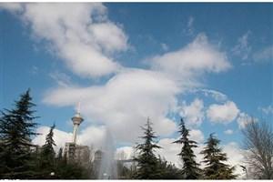 تهران گرم می شود/ هوای پایتخت سالم است
