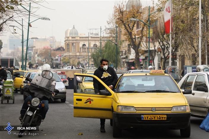 هوای تهران به  مرز آلودگی رسید
