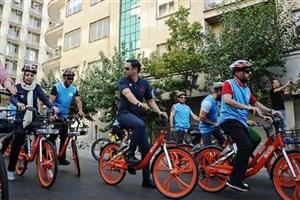 کرونا دوچرخهسواران تهرانی را افزایش داد