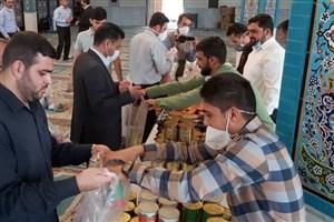 برگزاری رزمایش کمک مومنانه در دانشگاه آزاد مرودشت