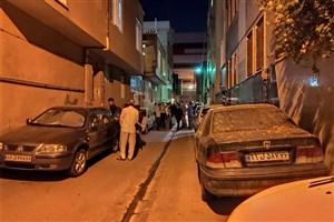 انفجار منزل مسکونی در خیابان کمیل تهران