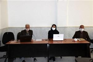 برگزاری نخستین جلسه دفاع مجازی از رساله دکتری در واحد رودهن