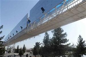 ساخت پل عابر پیاده در ورودی گیشا