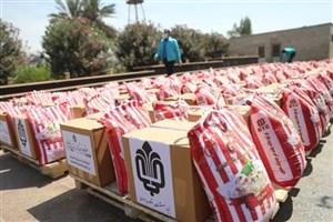 توزیع 4300 بسته غذایی میان نیازمندان مناطق محروم هرمزگان