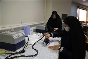 راه اندازی کارگاه تولید ماسکِ 5 لایه در واحد یادگار امام خمینی(ره)