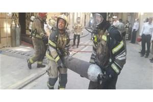 آتش سوزی در کارگاه طلاسازی
