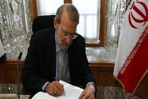 رئیس مجلس به فرهاد دژپسند تسلیت گفت