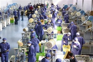 تولید روزانه 4 میلیون انواع ماسک در بزرگترین کارخانه ماسک کشور در البرز