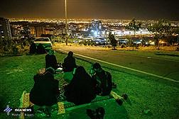 مراسم احیاء شب بیست و یکم ماه رمضان در تپه نور الشهدا تهران