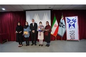 تجلیل از دانشآموختگان مدارس سما کادر درمانی لاهیجان