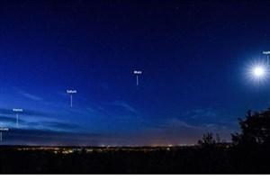 عطارد، زهره و ماه را این هفته در آسمان ببینید