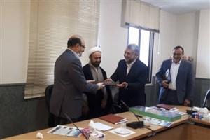مراسم تودیع و معارفه رئیس مرکز ورزش و تربیت بدنی دانشگاه آزاد اسلامی برگزار شد