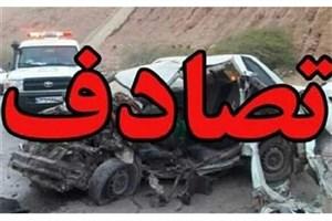 تصادف مرگبار در اتوبان ساوه/3نفرکشته 25نفر مصدوم شدند