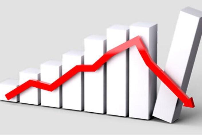 کاهش شاخص بورس