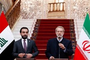 لاریجانی: ایران همواره آماده همکاری اقتصادی و امنیتی با عراق است