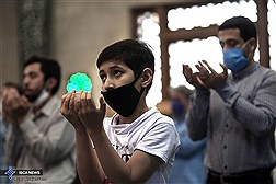 نماز عید فطر در مسجد دانشگاه تهران
