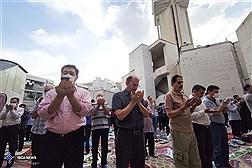 اقامه نماز عید فطر در مسجد نظام مافی