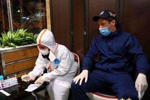 بازیکنان استقلال با ماسک آمدند، مجیدی بدون ماسک