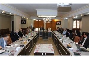 نخستین جلسه هیئت رئیسه دانشگاه علوم پزشکی آزاد تهران برگزار شد