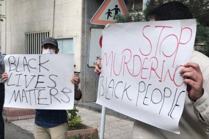 اعتراض دانشجویان به آمریکا