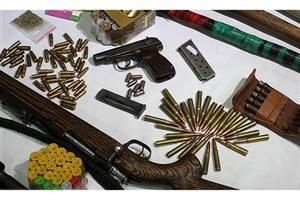 فروشندگان سلاحهای غیرمجاز در شهرستان البرزدستگیر شدند