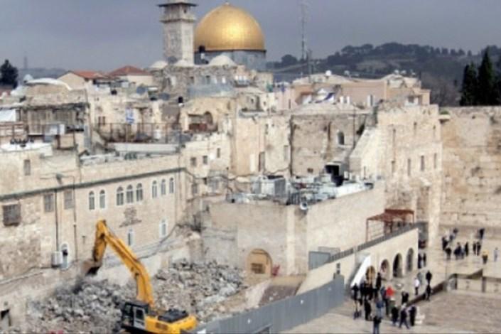 تخریب خانه قلسطینی ها