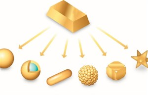 تولید نانوذرات طلا با خلوص بالا و اندازه ذرات یکنواخت