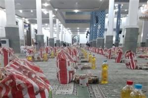 ۱۰۰۰ بسته معیشتی غذایی در مناطق محروم یزد توزیع شد