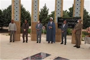 مراسم سالگرد ارتحال امام خمینی (ره) در واحد خرم آباد برگزار شد