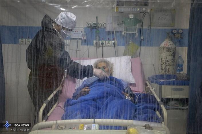 بخش ویژه «بیماران کرونا» بیمارستان امیر المومنین (ع)  اهواز