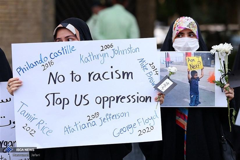 تجمع دانشجویان علیه تبعیض نژادی آمریکا