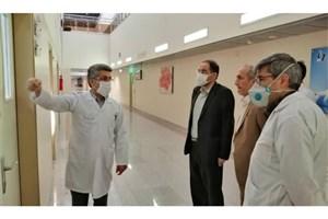 رئیس دانشگاه علوم پزشکی آزاد اسلامی تهران  از بیمارستان فرهیختگان بازدید کرد