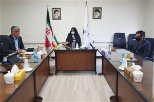 جلسه بازاریابی از مراکز آزمایشگاهی و تحقیقاتی دانشگاه آزاد تهران غرب برگزار شد