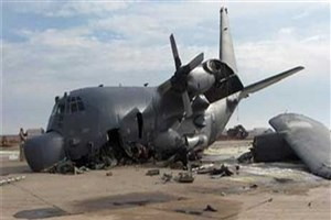 فرود ناقص هواپیمای نظامی آمریکا در «التاجی» عراق