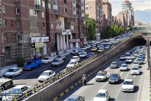 آخرین وضعیت ترافیکی معابر پایتختدر7 تیرماه