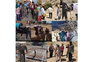 آغاز فعالیت های جدید قرارگاه جهادی نجاح در شهرستان ایذه