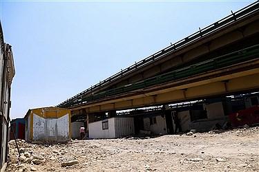 پل گیشا جزو 7 پل فلزی تهران است که قدمت آن به 50 سال می رسد اما قرار نبوده این مدت طولانی از این پل استفاده شود گرچه با مرمت ها و بهسازی ها هم اکنون درحال استفاده است.