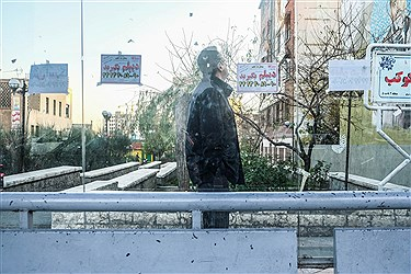 آگهی های تبلیغاتی چسبانده شده در ایستگا های اتوبوس مناظره ناخوشایندی را برای شهروندان ایجاد کرده است.