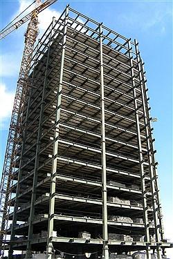تکمیل اسکلت ساختمانی