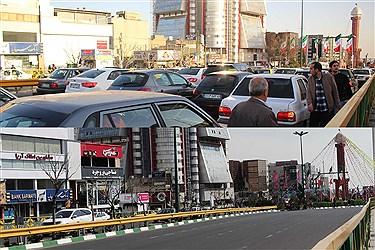 این تصاویر مقایسه ایست بین روز های پایانی سال 97 و آخرین روز های سال 98 که مردم  تهران درگیر مهمانی ناخوانده  هستند به نام کرونا...
